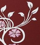 Wandschablone Blumenzauber