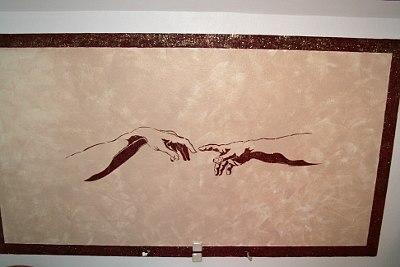 Die Hände von Michelangelo ...