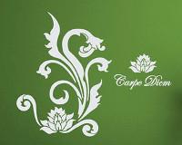 Wandschablone Carpe Diem, B6026