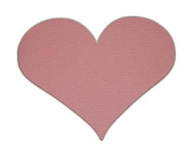 Cricut Expression ausgeschnittenes Herz