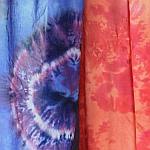 Batiken auf Vorhängen